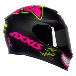 Capacete Eagle MG16 Celebrity Edition by Marianny Preto Fosco Axxis