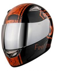 Capacete Route 66 Full Face Preto Kraft