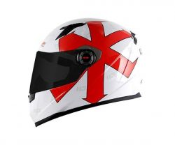 Capacete LS2 FF358 Replica Paschoalin White