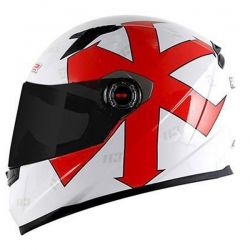 Capacete FF358 Replica Paschoalin White LS2