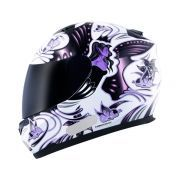 Capacete MT Blade Butterfly New White Pink