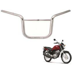 Guidão Titan 150 Modelo Motoboy Cromado Chapam