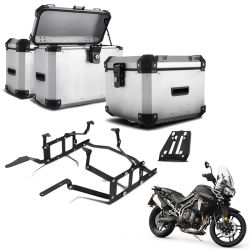 Kit Bauletos Tiger 800 14/18 Aluminio Roncar