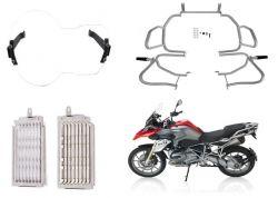 Kit Proteção R 1200 GS Premium Prata 2013 até 2016