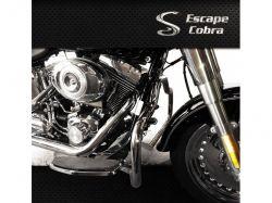Mata-cachorro Softail Deluxe - Cromo Cobra