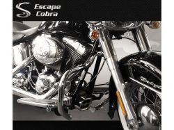 Mata cachorro tubular HD Softail Fat boy  Cobra