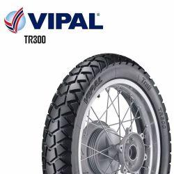 Pneu 110/90R17 Traseiro Bros 125 Bros 150  Vipal Tr300