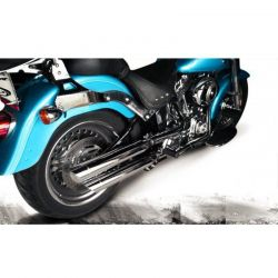 Ponteira Softail Fat Boy Sport Chanfro Móvel Cobra