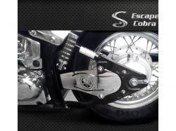 Protetor cardã Dragstar 650 cromo  Cobra