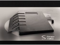 Protetor Cárter Dragstar 650 - Preto Fosco
