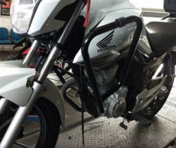 Protetor de carenagem CG 160 sem pedaleiras - WACS