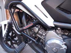 Protetor Motor Carenagem c  Pedaleira NC 700 X NC 750 X Chapam