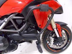 Protetor de Motor Multistrada 1200  Preto Fosco Chapam