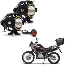 Protetor de Motor e Carenagem Tenere 250 + Farol de LED