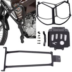 Protetores Tenere 250 Motor / Carter / Farol / Quadro Bráz