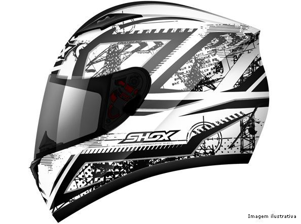 Capacete Shox Axxis Impact
