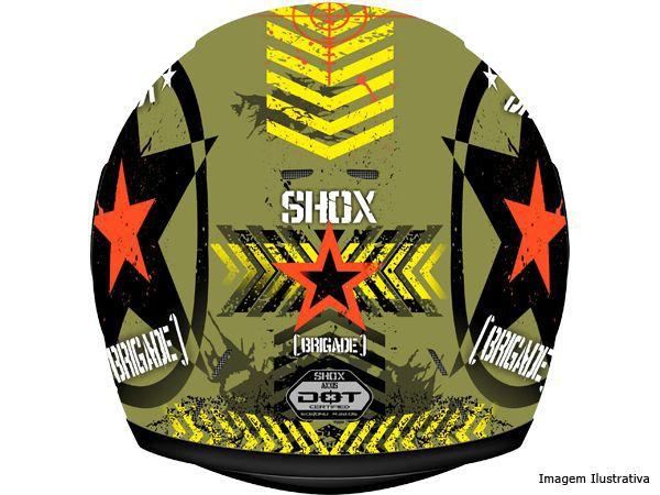 Capacete Shox Axxis Brigate