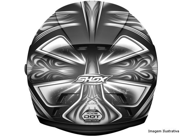 Capacete Shox Axxis Explode