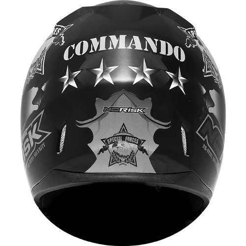 Capacete Norisk FF391 Commando  - Motorshopp