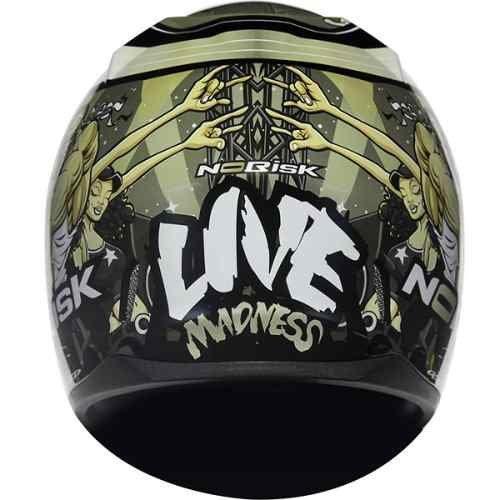 Capacete Norisk FF391 Live Madness  - Motorshopp