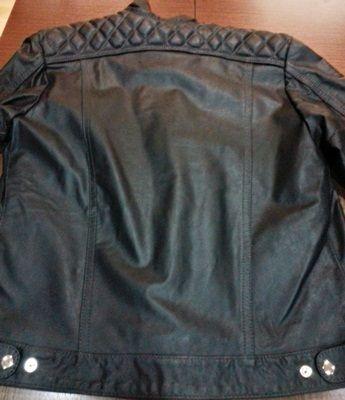 Jaqueta de Couro Augustus Fashion Angel