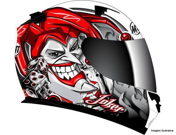 Capacete Mt Blade Joker New Black