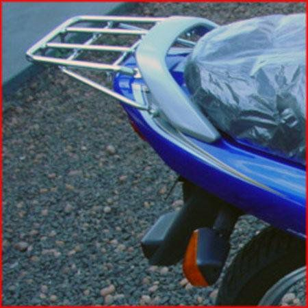 Bagageiro Yes 125 Hércules reforçado Roncar  - Motorshopp