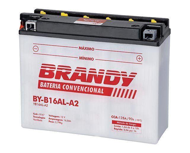 Bateria com Solução Brandy BY-B16AL-A2 - Virago 750 V-max