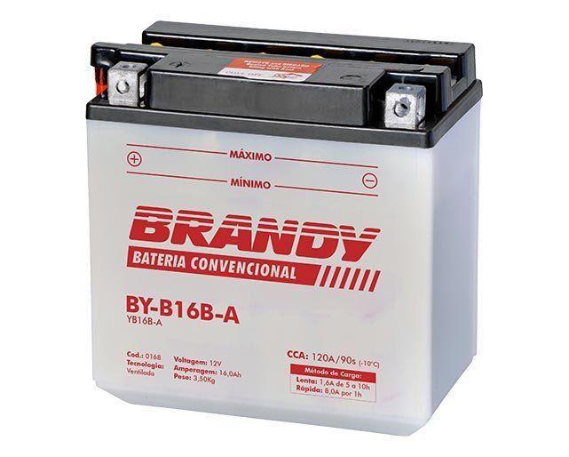 Bateria com Solução Brandy - BY-B16B-A - Vx 800  - Motorshopp