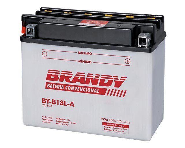 Bateria VF 1100 KZ 1000 com Solução Brandy BY-B18L-A  - Motorshopp