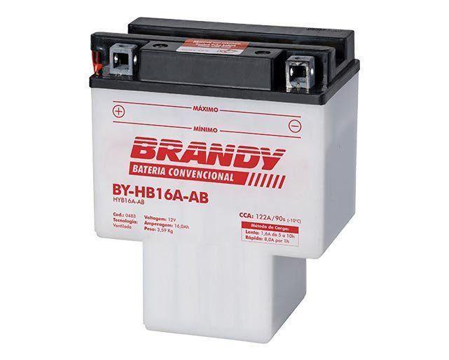 Bateria com Solução Brandy BY-BH16A-AB - Shadow 750 / 1100
