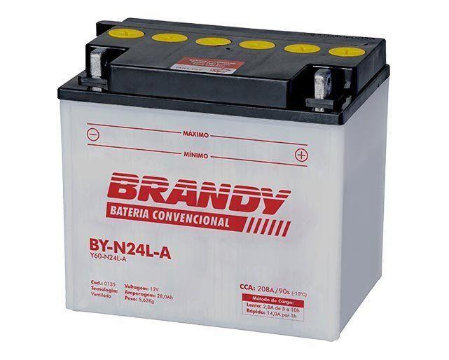 Bateria com Solução Brandy - BY-N24L-A - R60 R80 R90 K75