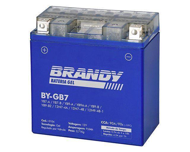 Bateria em Gel Brandy - BY-GB7 - Yes 125 GS 120 Kansas