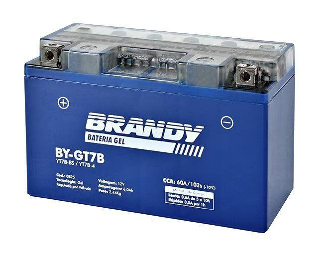 Bateria em Gel Brandy - BY-GT7B - Panigale Daytona DRZ