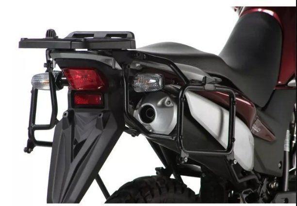 Bau Lateral Givi E21N + Suporte XRE 300 Givi  - Motorshopp