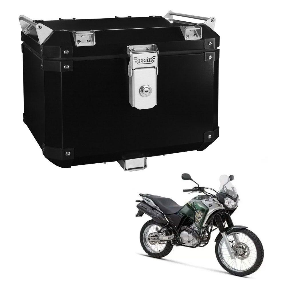 Bauleto Atacama 43L Tenere 250 Aluminio Preto Top Case Bráz  - Motorshopp
