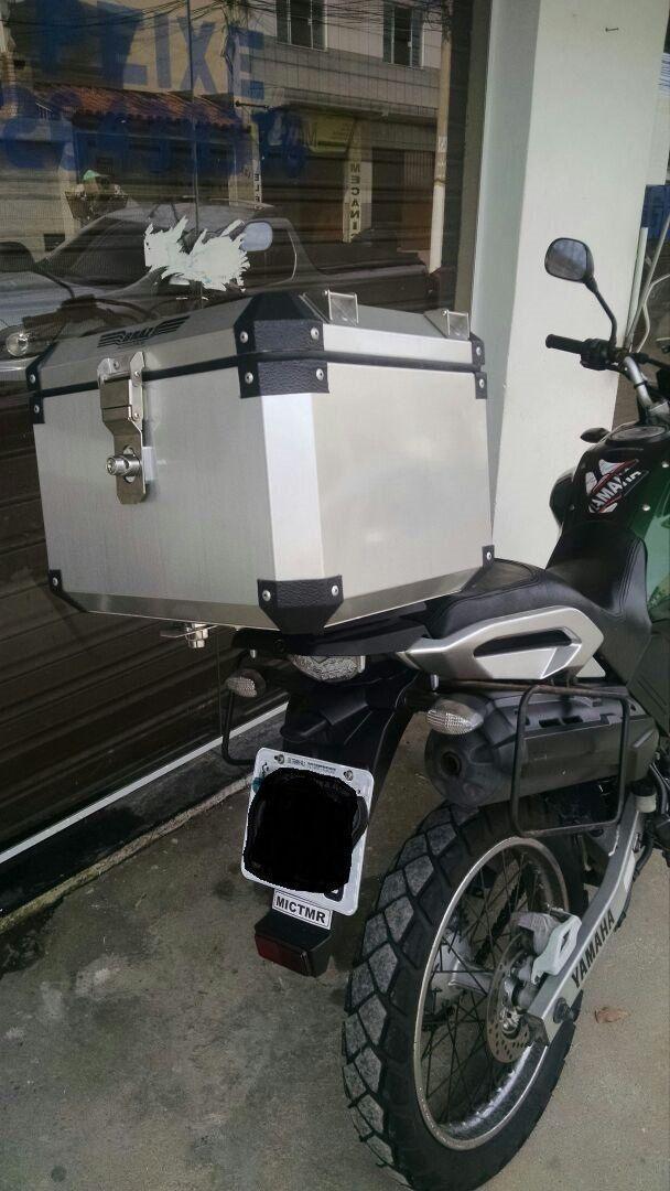 Bauleto Atacama 43L Tenere 250 Escovado Top Case Bráz