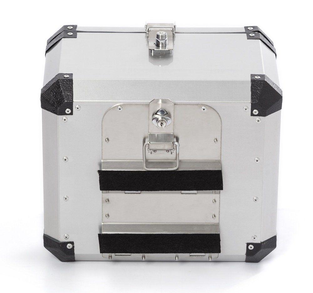 Bauleto Atacama 43L Top Case Aluminio Escovado