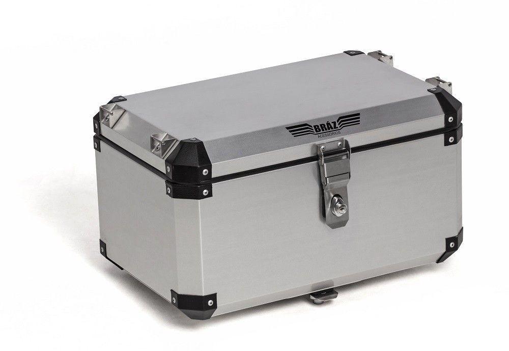 Bauleto Atacama 55L Tiger 800 Aluminio Top Case  Bráz