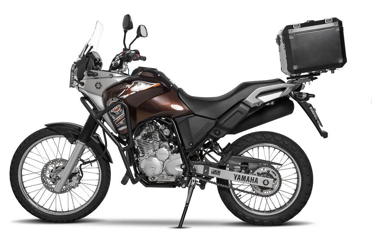 Bauleto Atacama 43L Tenere 250 Aluminio Top Case Bráz  - Motorshopp