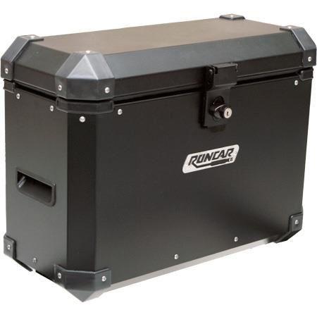 Bauleto Alumínio Lateral 13 Litros Universal Par Roncar  - Motorshopp