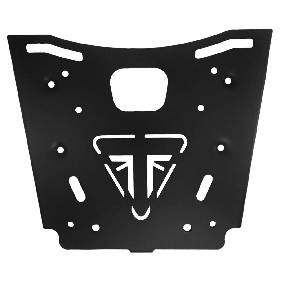 Bauleto Tiger 800 43L Fibra de Carbono Bráz Acessórios  - Motorshopp