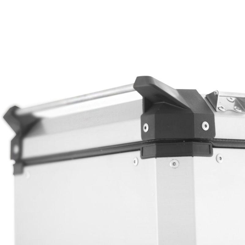 Bauletos Laterais 40 Litros Aluminio Roncar  - Motorshopp