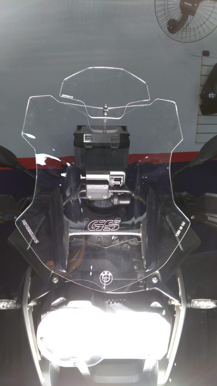 Bolha Alta R 1200 GS / Adv 13... Cristal c/ Defletor Motobolhas  - Motorshopp
