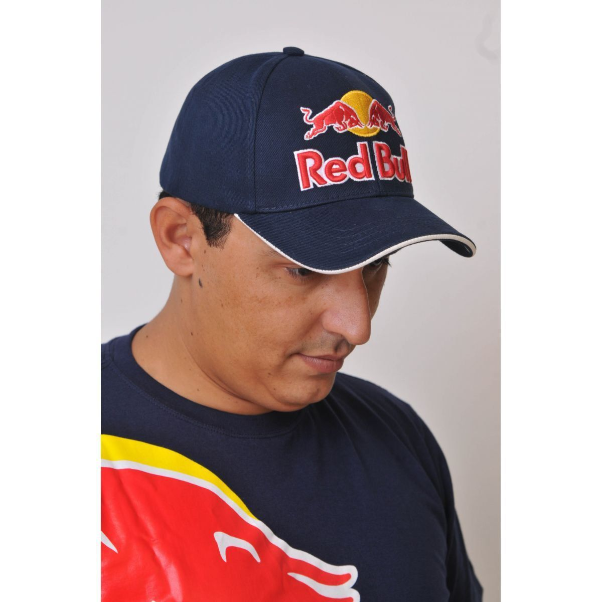 Boné Marc Marquez Red Bull Powered Azul  - Motorshopp