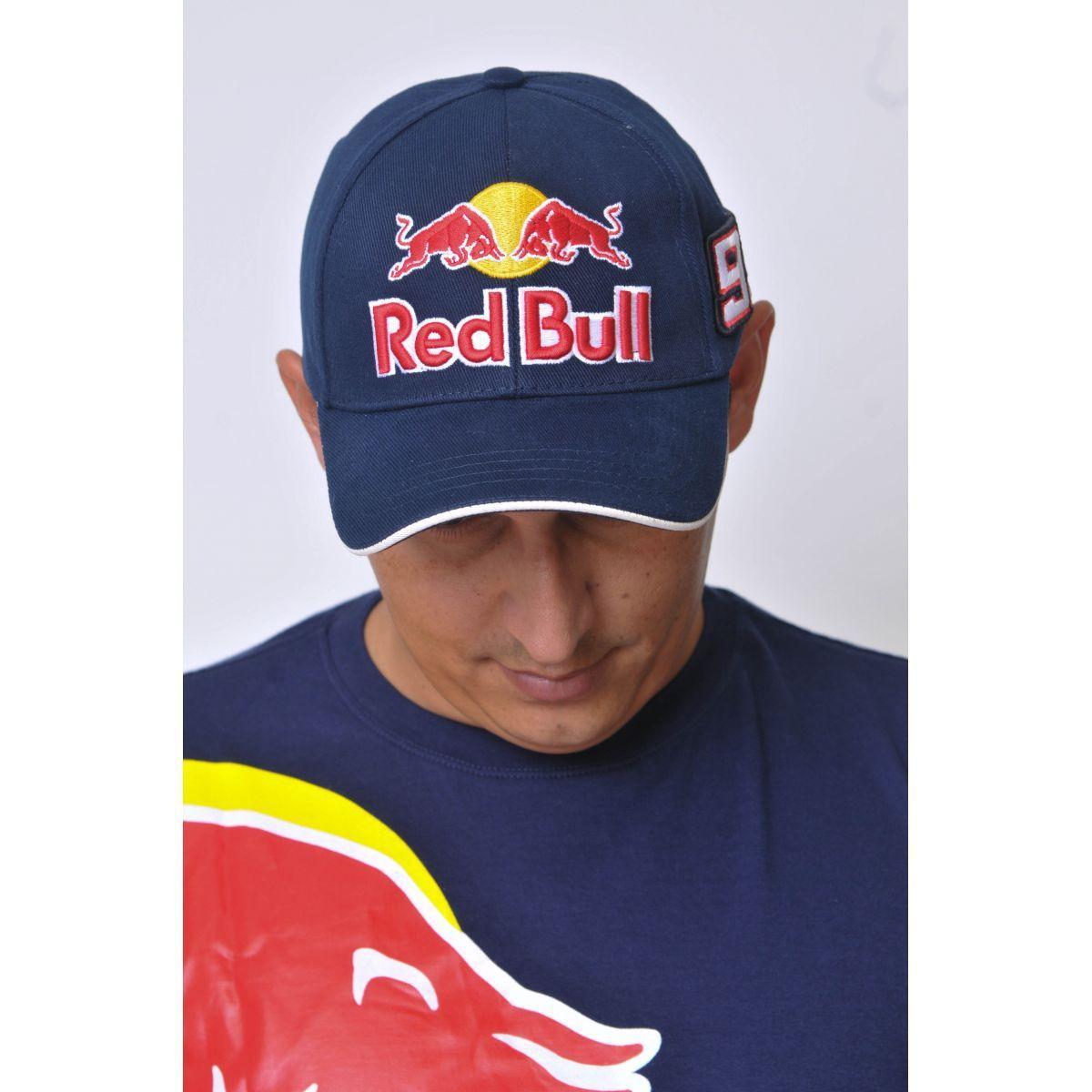 Boné Marc Marquez Red Bull Powered Azul