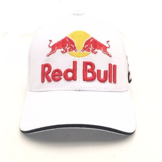 f5b36d64a7510 ... Boné Marc Marquez 93 Red Bull Branco Powered - Motorshopp