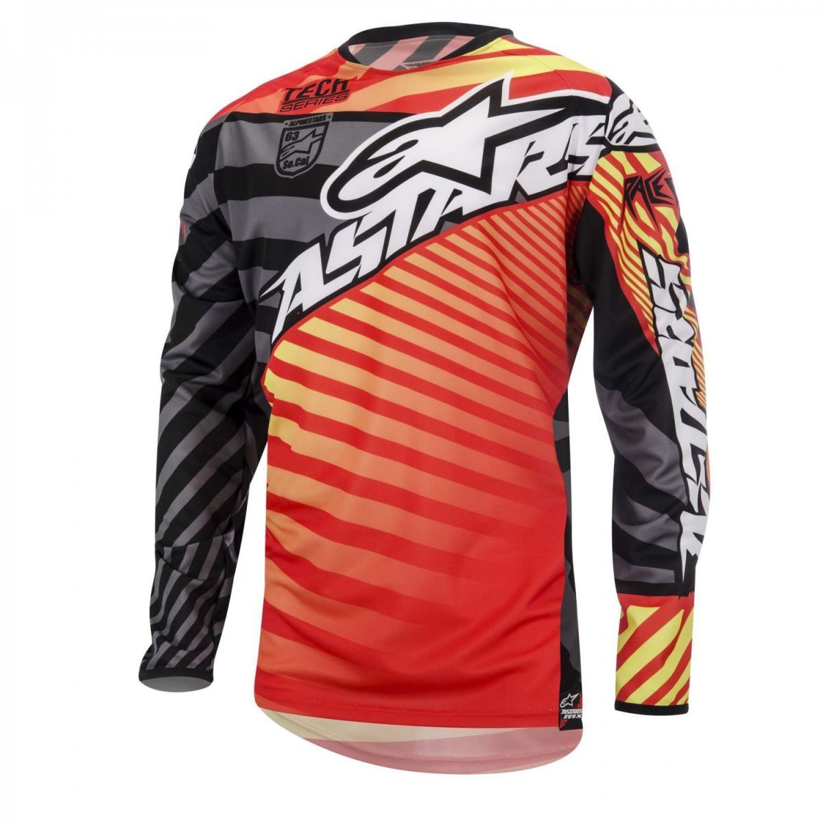 Camisa Off Road Alpinestars Racer Braap 15