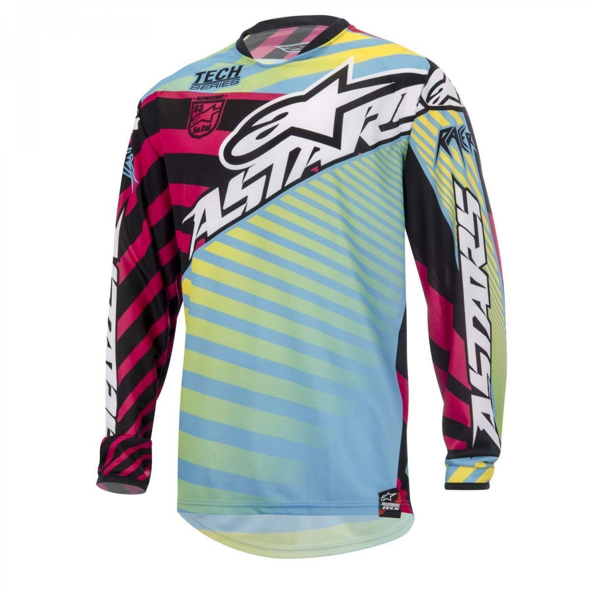 Camisa Off Road Alpinestars Racer Braap 15