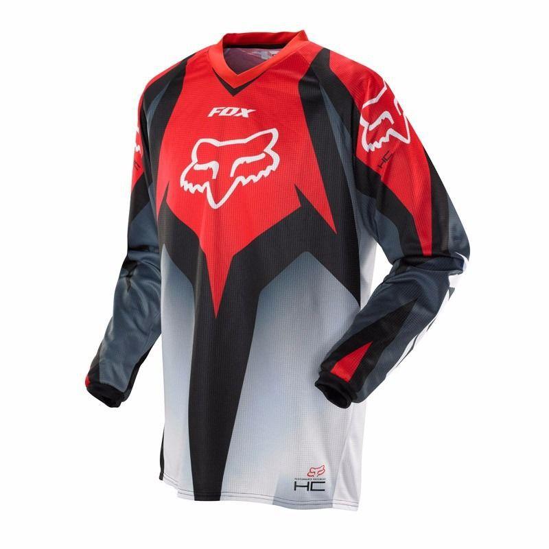 Camisa Off Road Hc Race 14 Vermelha Fox